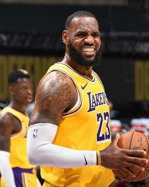 LeBron James será desfalque em jogos decisivos do Lakers
