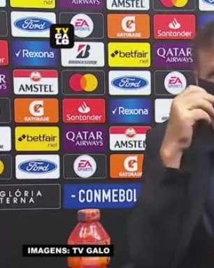 """ATLÉTICO-MG: Cuca vê goleada sobre o Cerro Porteño como 'a melhor partida' sob o seu comando mas defende: """"Ainda temos muito a evoluir"""""""