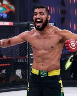 """José Augusto """"Gugu"""" comemora chance contra Anthony Johnson no torneio dos meio-pesados do Bellator: """"oportunidade da minha vida"""""""