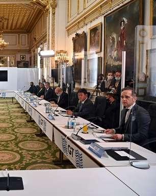 G7 repreende China e Rússia por ameaças econômicas, ações militares e abusos de direitos humanos