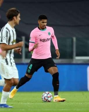 Everton mostra interesse pelo zagueiro Ronald Araújo, do Barcelona