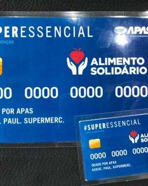 Governo de SP anuncia cartão alimentação de R$100 para população de baixa renda