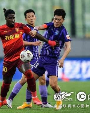 Markão dá assistência e é decisivo em mais uma vitória do Hebei Forune no Chinês
