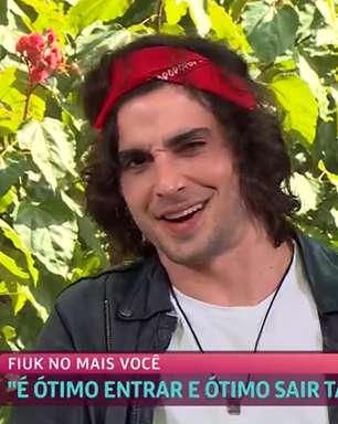 """No Mais Você, Fiuk comenta sobre BBB: """"foi desesperador"""""""