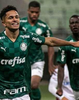 Com Gabriel Silva, Palmeiras goleia Náutico pela Copa do Brasil Sub-20