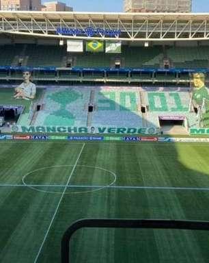 Contra o Santos, Allianz Parque terá mosaico alusivo à conquista da Libertadores 2020