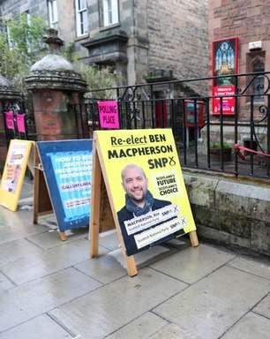 Escócia realiza eleição com referendo de independência como tema principal