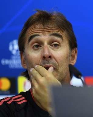 Duelo com Sevilla marca o reencontro do Real Madrid com Julen Lopetegui, ex-treinador da equipe