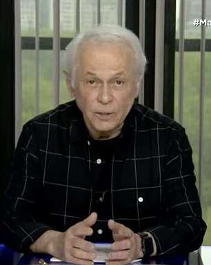 Lucas Mendes surge abatido na TV por demissão de Mainardi