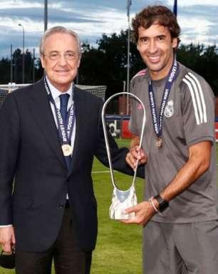 Raúl é especulado como futuro treinador do Frankfurt