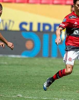 Flamengo e Palmeiras são multados por confusão na Supercopa do Brasil