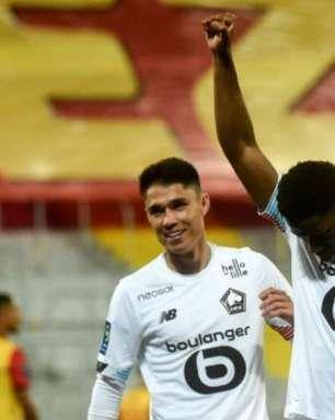 Lille vence, abre vantagem sobre o PSG e se segura em 1º