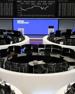 Ações europeias fecham em máxima recorde com fortes dados alemães e balanços