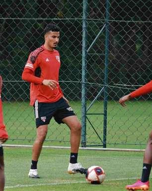 Em recuperação de lesão no joelho, Walce inicia transição no São Paulo