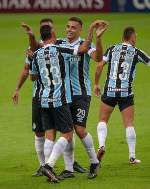 Grêmio faz 8 a 0 no Aragua e segue 100% na Sul-Americana