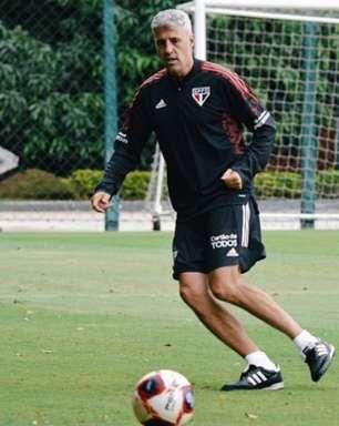 São Paulo realiza seu último treino antes de enfrentar o Mirassol