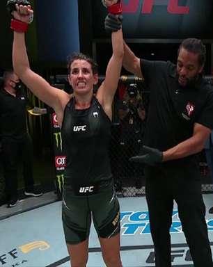 Brasileira mostra Muay Thai afiado e supera americana na luta principal do UFC Vegas 26; confira