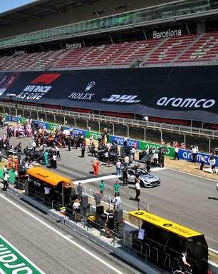 GP da Espanha 2021: acompanhe o ao vivo da corrida da F1 em Barcelona