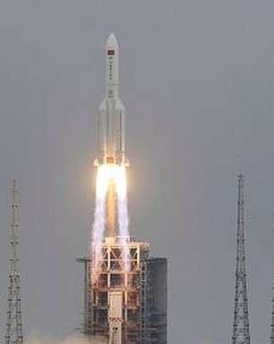 Como foi a reentrada de foguete chinês descontrolado, que caiu no Oceano Índico