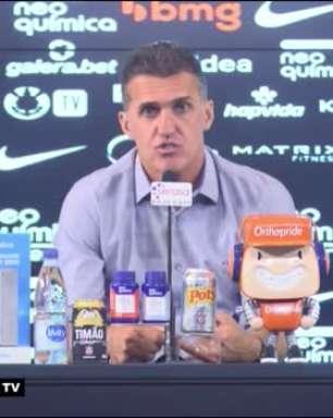 """CORINTHIANS: Mancini exalta semana decisiva e comenta planejamento para os próximos dias: """"Montamos duas equipes que podem se mesclar"""""""