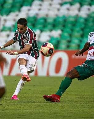 Gabriel Teixeira vibra com gol pelo Fluminense e exalta parceria com Kayky: 'Essa dupla joga para sempre'