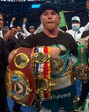 Canelo Alvarez supera Billy Saunders, conquista cinturão e se aproxima de feito histórico no Boxe