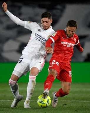 Real Madrid e Sevilla empatam pelo Espanhol, e merengues perdem chance de assumir a liderança