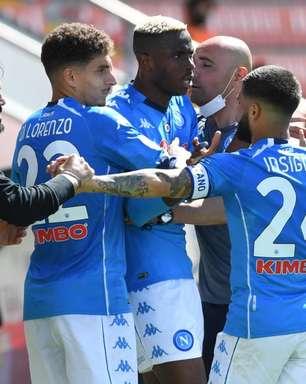 Napoli enfrenta a Udinese de olho na vice-liderança do Campeonato Italiano