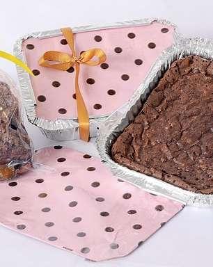 Receita de brownie recheado na marmita para vender