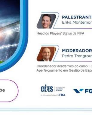Webinar da FGV debate Sistema de resolução de disputas da FIFA e estabilidade contratual no futebol