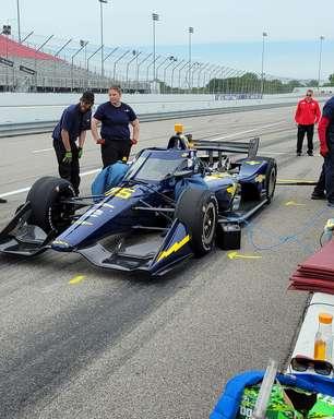 Top Gun realiza teste com Enerson em Gateway e mira inscrição na Indy 500