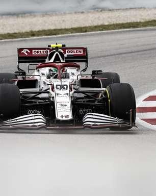 """Após pit-stop desastroso e falhas, Giovinazzi desabafa: """"Foi um GP de merda"""""""