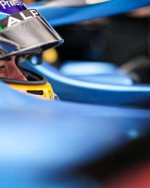 """Alonso rasga elogios e diz que """"nem com 100%"""" de esforço consegue se igualar a Ocon"""