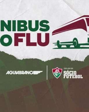 Fluminense e Águia Branca lançam campanha para que sócios escolham o novo adesivo do ônibus tricolor