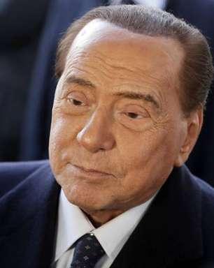 Berlusconi é internado novamente para tratamento pós-covid