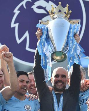 Guardiola comemora tricampeonato da Premier League pelo Manchester City: 'Este foi o mais difícil'