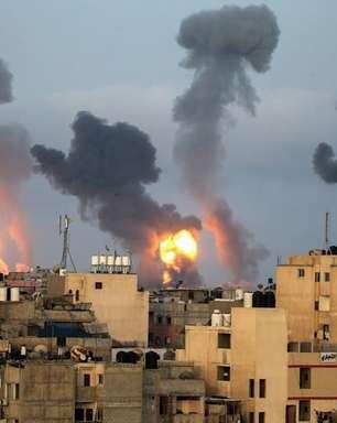 Hamas e Israel trocam disparos, e tumultos em Jerusalém abalam Gaza