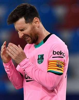 Barça vacila 2 vezes, empata e desperdiça chance de ser 1º