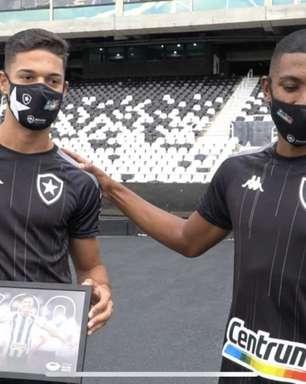 Com dupla de zaga formada por Sousa e Kanu, Botafogo chega ao terceiro jogo seguido sem sofrer gol