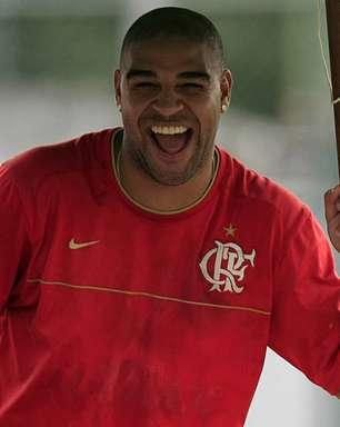Adriano relembra morte do pai e intrigas com Mourinho