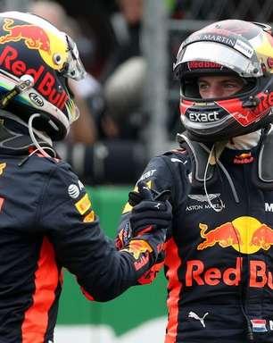 Ricciardo fala sobre ser companheiro de equipe de Verstappen na F1
