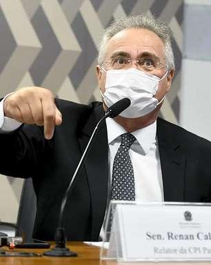CPI: Renan pede indiciamento de Bolsonaro por dez crimes