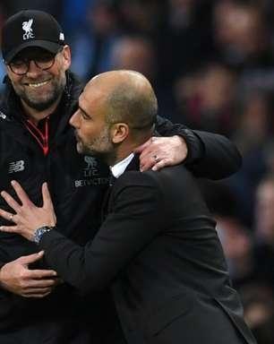 Klopp parabeniza título inglês do Manchester City e elogia Guardiola: 'É o melhor técnico do mundo'