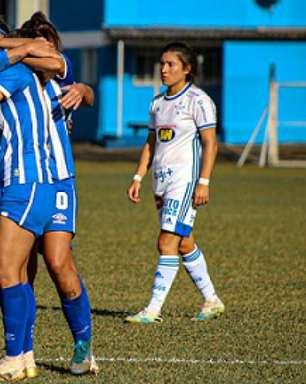 Time feminino do Cruzeiro perde mais uma e entra no Z4 do Brasileiro