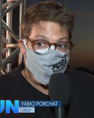 'JN' exibe 'sem querer querendo' máscara 'Fora Bolsonaro'