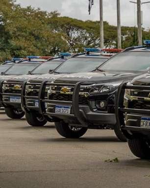 Policia Civil de SP incorpora viaturas Chevrolet Trailblazer blindadas