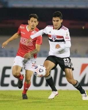 Com 11 jogadores da base em campo, São Paulo quebra seu recorde na Libertadores contra o Rentistas