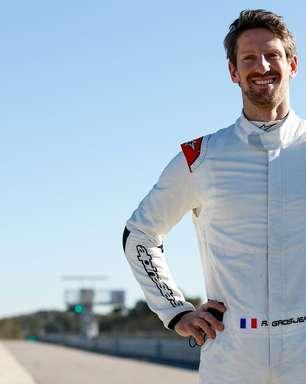 "Grosjean conta que 'renascimento' após acidente fez perceber que ""a vida é bonita"""
