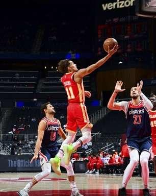 Hawks bate Wizards e garante vaga nos playoffs