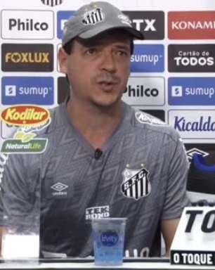 """SANTOS: Diniz não crava presença de Marinho na partida contra o The Strongest pela Libertadores: """"não é uma certeza, vamos esperar"""""""
